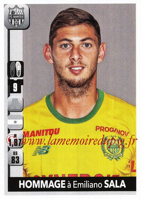 2018-19 - Panini Ligue 1 Stickers - N° T42 - Hommage à Emiliano SALA (Nantes)