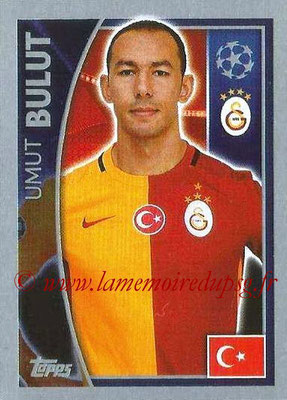 2015-16 - Topps UEFA Champions League Stickers - N° 202 - Umut BULUT (Galatasaray AS)