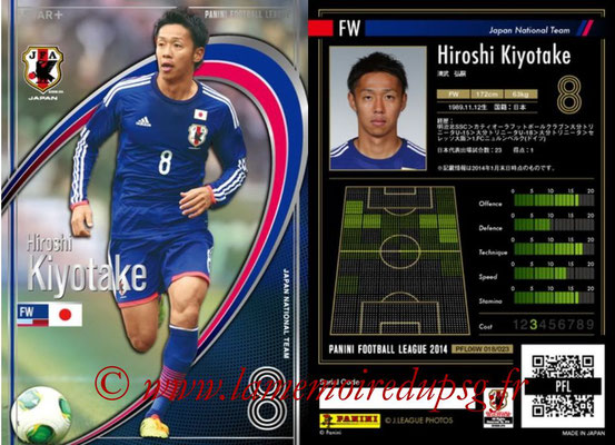 Panini Football League 2014 - PFL06W - N° 018 - Hiroshi KIYOTAKE (Japon) (Star +)