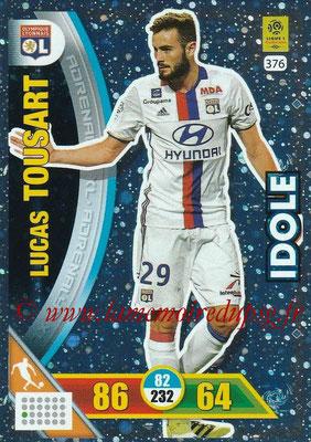 2017-18 - Panini Adrenalyn XL Ligue 1 - N° 376 - Lucas TOUSART (Lyon) (Idole)