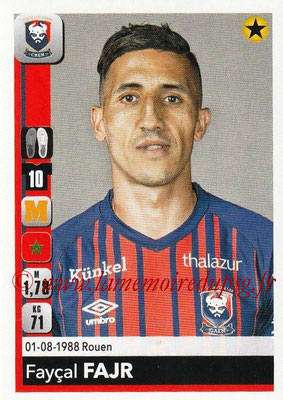 2018-19 - Panini Ligue 1 Stickers - N° 086 - Faycal FAJR (Caen)
