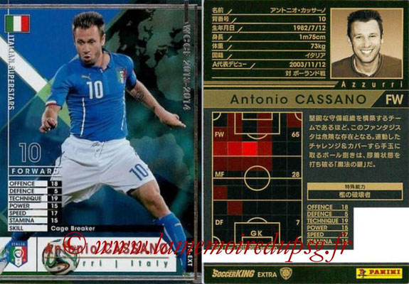 2013-14 - WCCF - N° ITS-EXT - Antonio CASSANO (Italie) (Italian Superstars) (Extra)