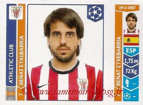 2014-15 - Panini Champions League N° 605 - Benat ETXEBARRIA (Athletic Club Bilbao)