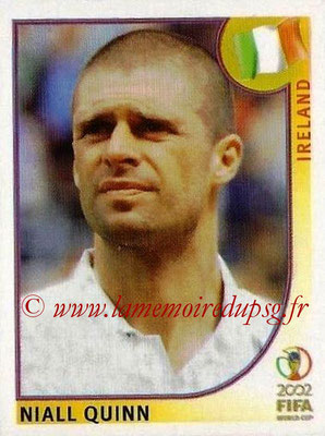 2002 - Panini FIFA World Cup Stickers - N° 364 - Niall QUINN (Irlande)
