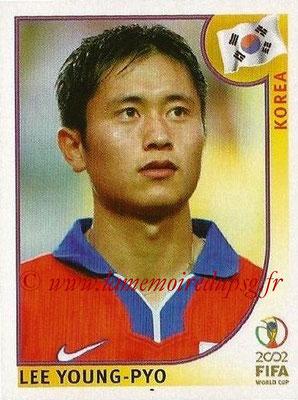 2002 - Panini FIFA World Cup Stickers - N° 250 - Lee YOUNG-PYO (Corée)
