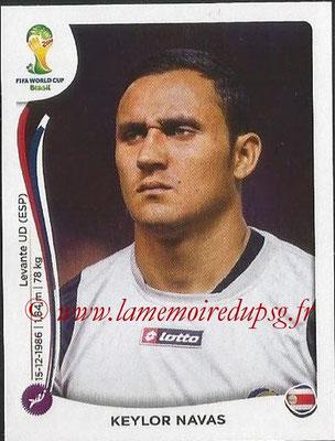 2014 - Panini FIFA World Cup Brazil Stickers - N° 281 - Keylor NAVAS (Costa Rica)