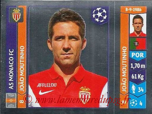2014-15 - Panini Champions League N° 240 - Joao MOUTINHO (AS Monaco)