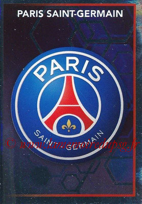 2017-18 - Panini Ligue 1 Stickers - N° 385 - Ecusson PSG (Paris Saint-Germain)