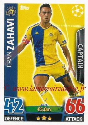 2015-16 - Topps UEFA Champions League Match Attax - N° 406 - Eran ZAHAVI (Maccabi Tel-Aviv FC) (Captain)