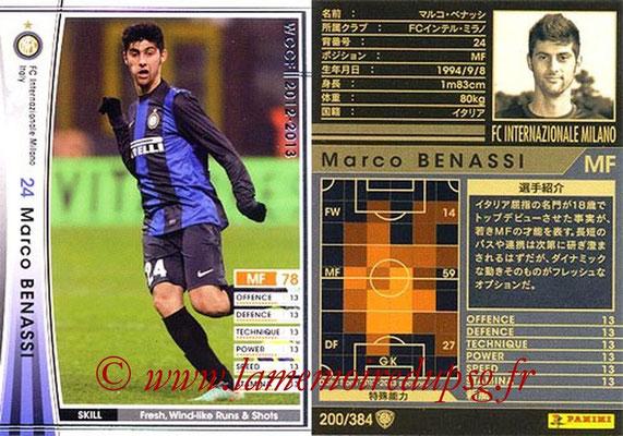 2012-13 - WCCF - N° 200 - Marco BENASSI (Inter Milan)