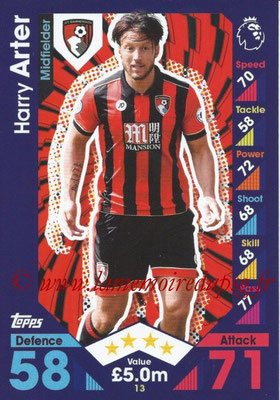 2016-17 - Topps Match Attax Premier League - N° 013