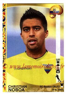 Panini Copa America Centenario USA 2016 Stickers - N° 150 - Christian NOBOA (Equateur)