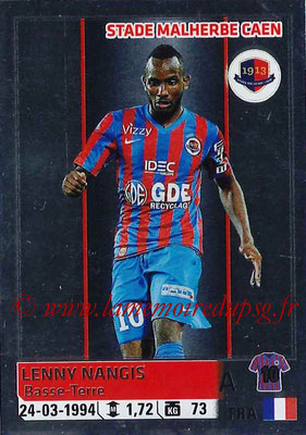 2014-15 - Panini Ligue 1 Stickers - N° 071 - Lenny NANGIS (SM Caen)