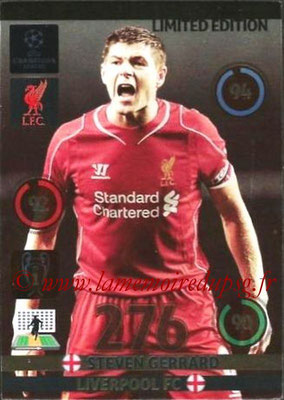 2014-15 - Adrenalyn XL champions League N° LE-SG - Steven GERRARD (Liverpool FC) (Limited Edition)