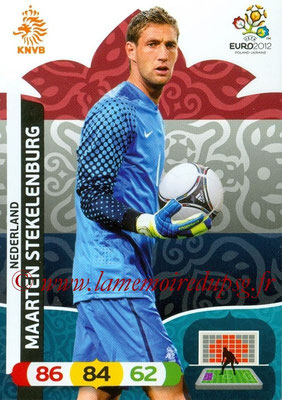 Panini Euro 2012 Cards Adrenalyn XL - N° 133 - Maarten STEKELENBURG (Pays-Bas)