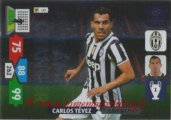 2013-14 - Adrenalyn XL champions League N° 342 - Carlos TEVEZ (Juventus FC) (Game Changer)