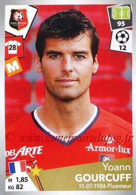 2017-18 - Panini Ligue 1 Stickers - N° 402 - Yoann GOURCUFF (Rennes)