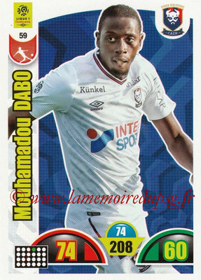 2018-19 - Panini Adrenalyn XL Ligue 1 - N° 059 - Mouhamadou DABO (Caen)