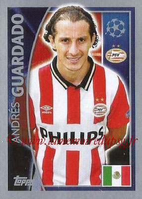 2015-16 - Topps UEFA Champions League Stickers - N° 096 - Andrés GUARDADO (PSV Eindhoven)