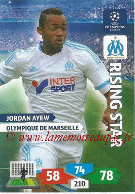 2013-14 - Adrenalyn XL champions League N° 216 - Jordan AYEW (Olympique de Marseille) (Rising Star)