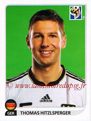2010 - Panini FIFA World Cup South Africa Stickers - N° 269 - Thomas HITZLSPERGER (Allemagne)