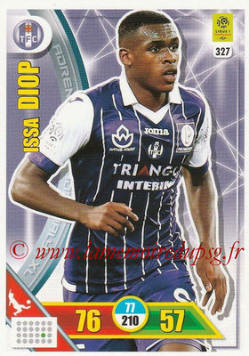 2017-18 - Panini Adrenalyn XL Ligue 1 - N° 327 - Issa DIOP (Toulouse)