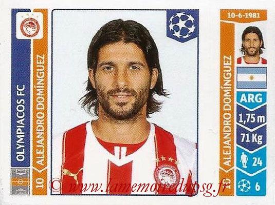2014-15 - Panini Champions League N° 081 - Alejandro DOMINGUEZ (Olympiacos FC)