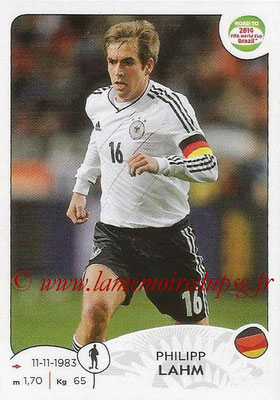 2014 - Panini Road to FIFA World Cup Brazil Stickers - N° 038 - Philipp LAHM (Allemagne)