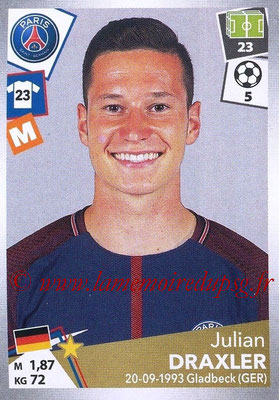 2017-18 - Panini Ligue 1 Stickers - N° 374 - Julian DRAXLER (Paris Saint-Germain)