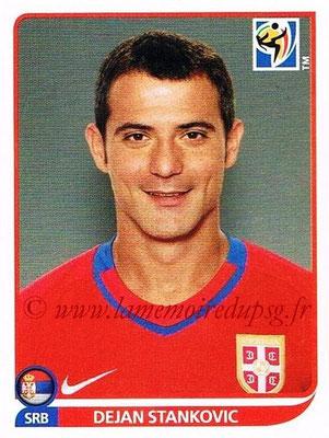 2010 - Panini FIFA World Cup South Africa Stickers - N° 307 - Dejan STANKOVIC (Serbie)