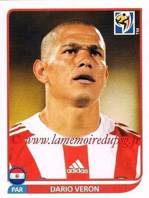 2010 - Panini FIFA World Cup South Africa Stickers - N° 436 - Dario VERON (Paraguay)