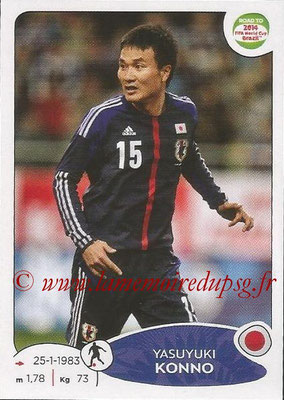 2014 - Panini Road to FIFA World Cup Brazil Stickers - N° 407 - Yasuyuki KONNO (Japon)