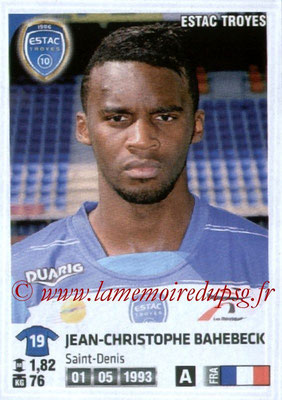 N° 451 - Jean-Christophe BAHEBECK (2010-12, PSG > 2012-13, Prêt à Troyes)