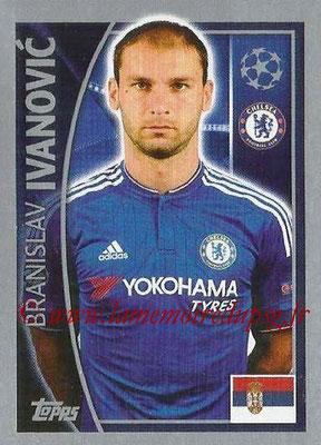 2015-16 - Topps UEFA Champions League Stickers - N° 452 - Branislav IVANOVIC (Chelsea FC)
