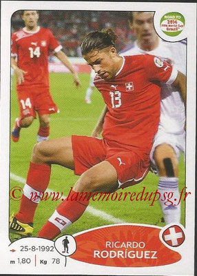 2014 - Panini Road to FIFA World Cup Brazil Stickers - N° 358 - Ricardo RODRIGUEZ (Suisse)