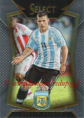 2015 - Panini Select Soccer - N° 062 - Sergio AGUERO (Argentine)