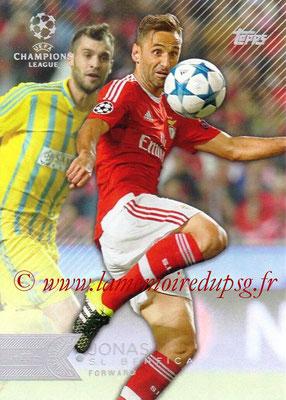 2015-16 - Topps UEFA Champions League Showcase Soccer - N° 059 - JONAS (SL Benfica)