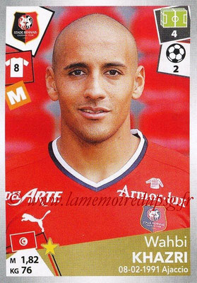 2017-18 - Panini Ligue 1 Stickers - N° 404 - Wahbi KHAZRI (Rennes)