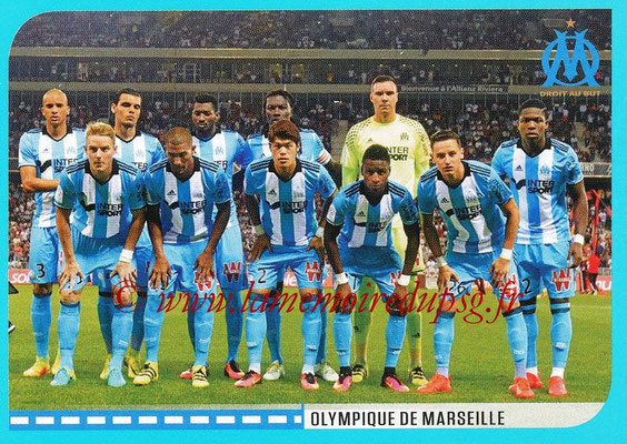 2016-17 - Panini Ligue 1 Stickers - N° 382 - Equipe Marseille