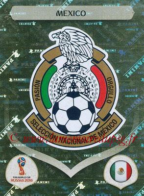 2018 - Panini FIFA World Cup Russia Stickers - N° 452 - Ecusson Mexique