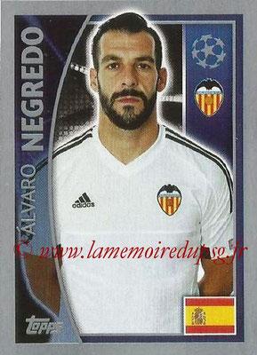 2015-16 - Topps UEFA Champions League Stickers - N° 563 - Alvaro NEGREDO (FC Valence)