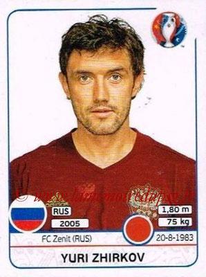Panini Euro 2016 Stickers - N° 169 - Yuri ZHIRKOV (Russie)