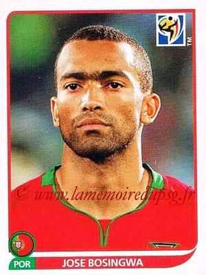 2010 - Panini FIFA World Cup South Africa Stickers - N° 549 - Jose BOSINGWA (Portugal)