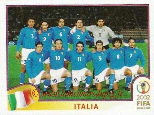 2002 - Panini FIFA World Cup Stickers - N° 457 - Equipe Italie