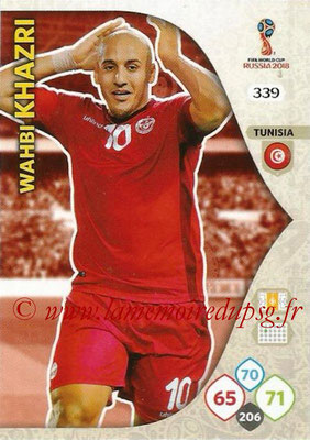 2018 - Panini FIFA World Cup Russia Adrenalyn XL - N° 339 - Wahbi KHAZRI (Tunisie)