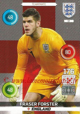 Panini England 2016 Adrenalyn XL - N° 012