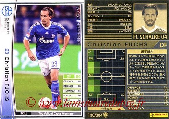 2012-13 - WCCF - N° 130 - Christian FUCHS (FC Schalke 04)