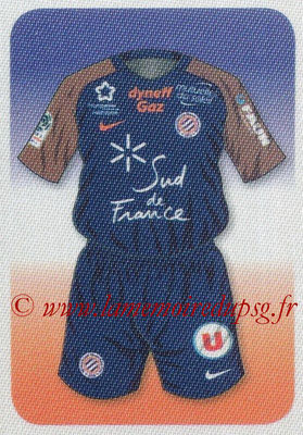 2017-18 - Panini Ligue 1 Stickers - N° 309 - Maillot Montpellier