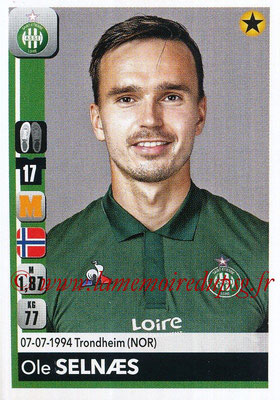 2018-19 - Panini Ligue 1 Stickers - N° 438 - Ole SELNAES (Saint-Etienne)
