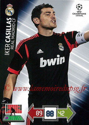 2012-13 - Adrenalyn XL champions League N° 217 - Iker CASILLAS (Real Madrid CF)